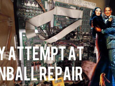 Addams-Family-Pinball-Repair-Part-1-of-2-The-Transistor