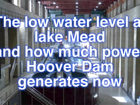 Lake-Mead-low-water-level-and-Hoover-dam-power-production