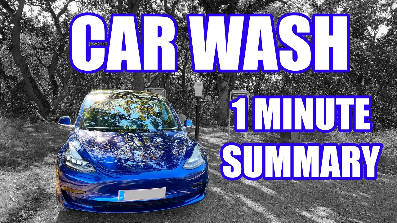 My weekly car wash routine for a perfect finish, explained quick