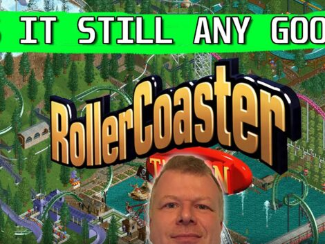 Playing-Rollercoaster-Tycoon-to-see-if-it-is-still-relevant